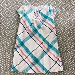 Gymboree soft plaid dress with pockets. EUC